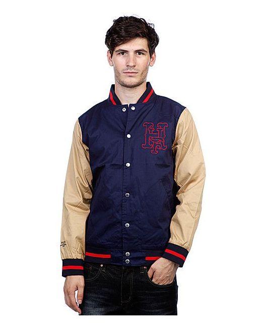 Куртка Бомбер Big League Jacket Navy/Red Huf                                                                                                              синий цвет