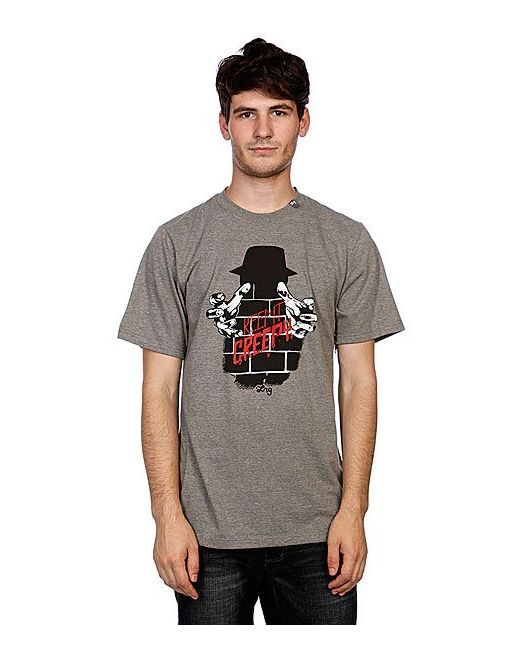 Футболка Alwaysonthecreep Tee Charcoal Heather LRG                                                                                                              None цвет