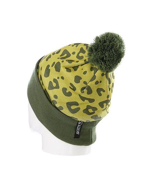 Шапка С Помпоном Fads Die Young Cuff Flat Fitty                                                                                                              зелёный цвет