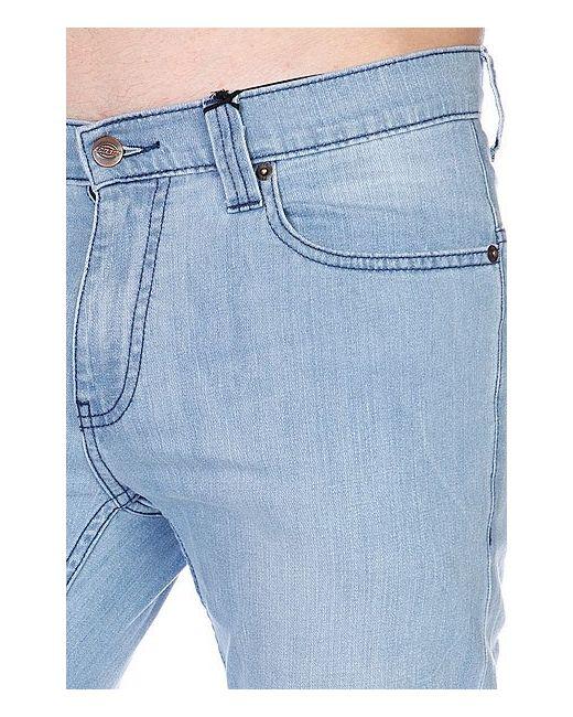 Штаны Прямые Louisiana Bleach Wash Dickies                                                                                                              синий цвет