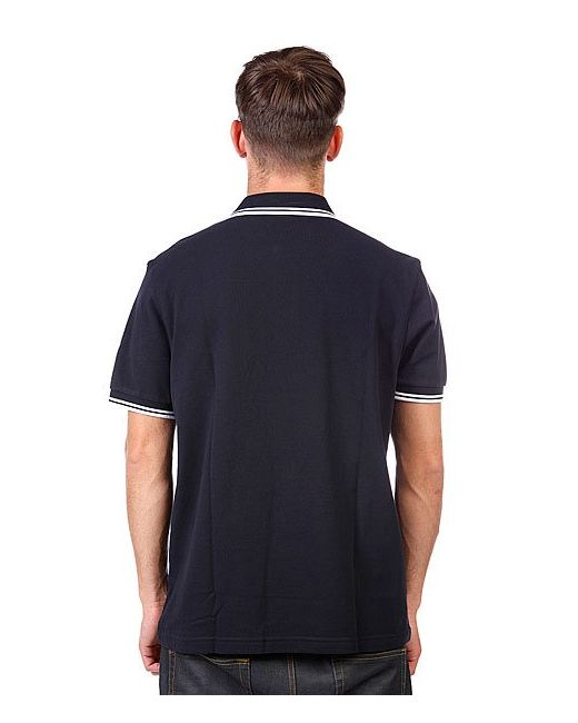 Поло Slim Fit Twin Tipped Navy Fred Perry                                                                                                              синий цвет