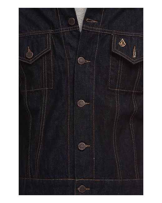 Куртка Turbo Jacket Rinse Volcom                                                                                                              синий цвет