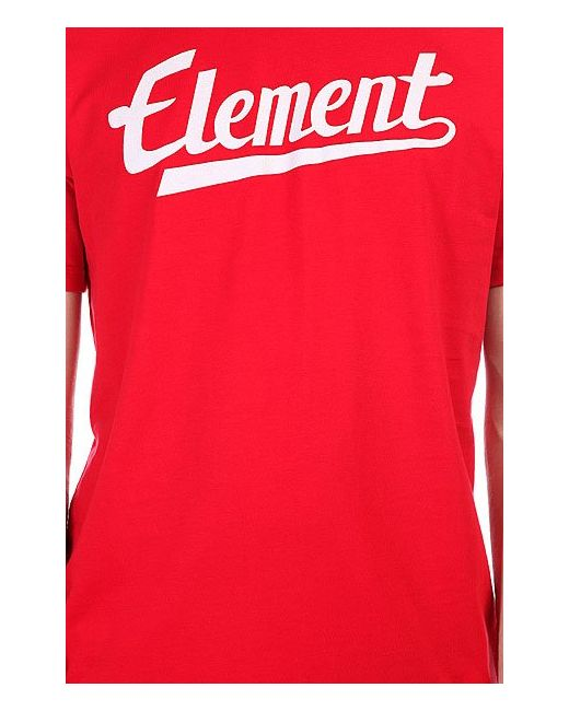 Футболка Signature Ss Red Element                                                                                                              красный цвет