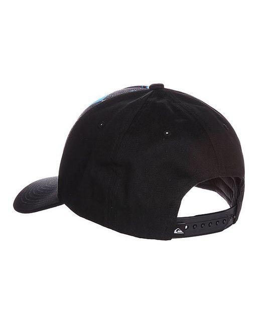 Бейсболка Pintails Hats Hawaiian Ocean Quiksilver                                                                                                              чёрный цвет