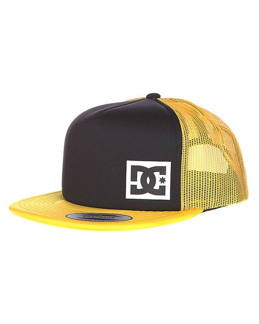 Бейсболка Dc Blanderson Hats Black/Freesia Dcshoes                                                                                                              оранжевый цвет