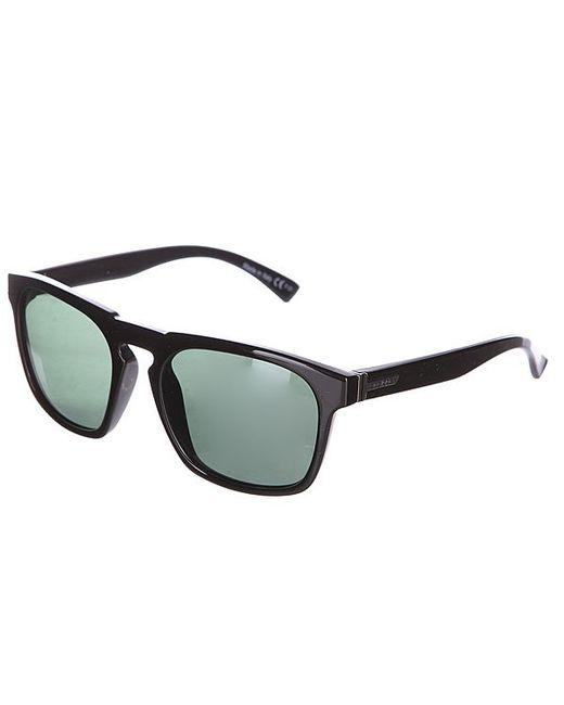 Очки Banner Black Gloss/Vintage Grey Von Zipper                                                                                                              чёрный цвет