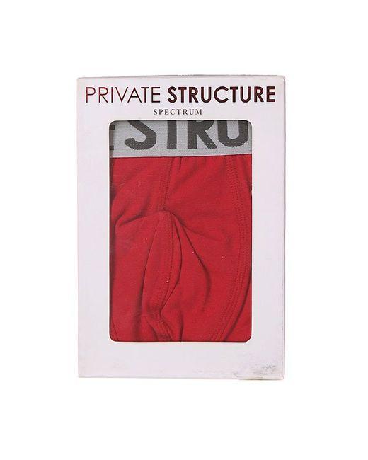 Трусы 209-Mu-0648 Red Private Structure                                                                                                              красный цвет