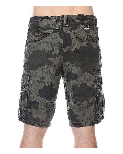 Шорты New Order Cargo Camo Billabong                                                                                                              чёрный цвет