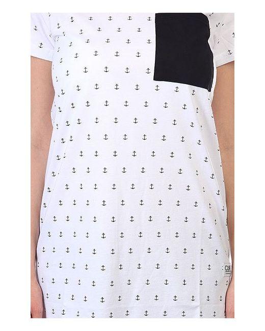 Платье Женское Night Tee White Anchor Clwr                                                                                                              белый цвет