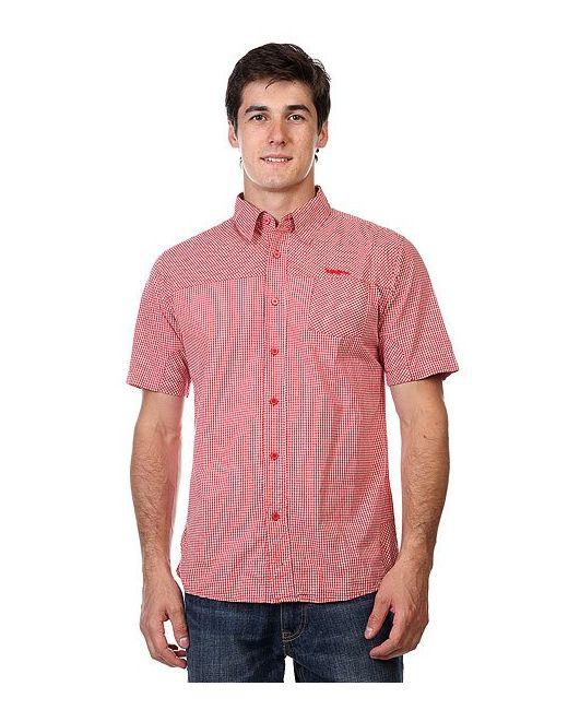 Рубашка В Клетку Enew15 Paisley Overprint Crimson Zoo York                                                                                                              красный цвет