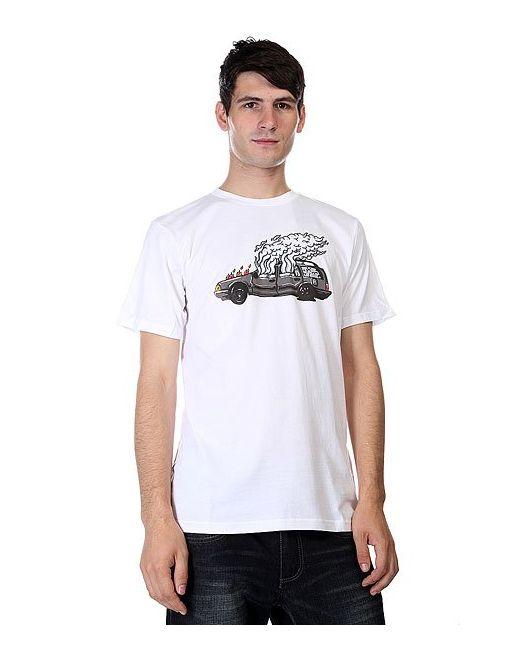 Футболка Dc Wes Car Ss White Dcshoes                                                                                                              белый цвет