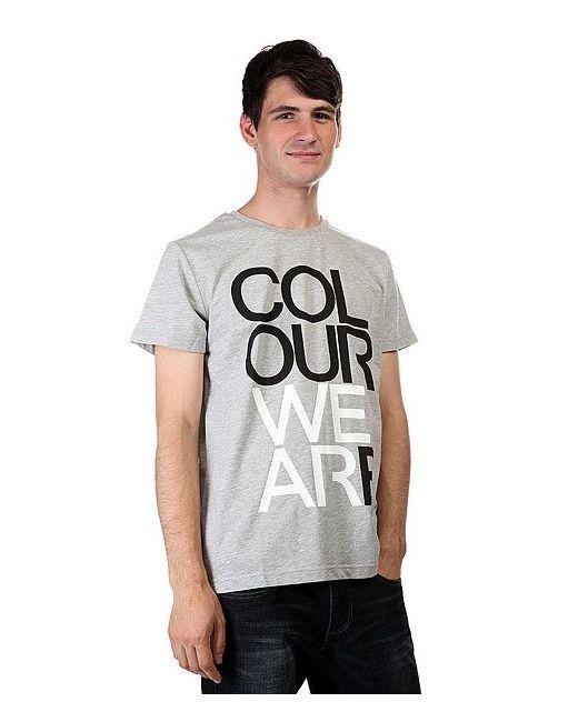 Футболка We Are Grey Melange Clwr                                                                                                              серый цвет