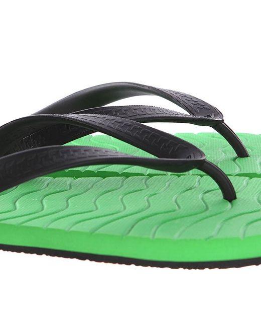 Вьетнамки Chipper Green/Black Reef                                                                                                              чёрный цвет