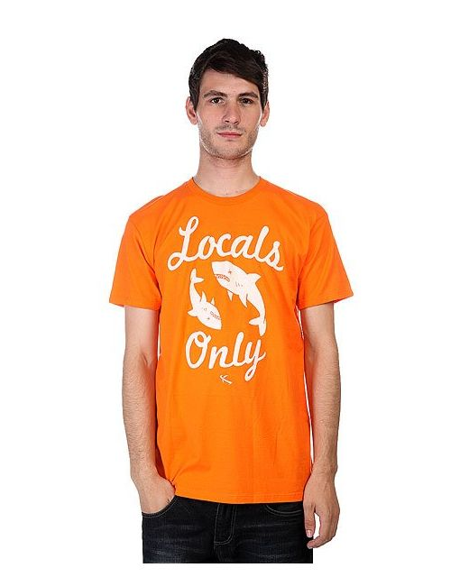 Футболка Locals Only Orange Lost                                                                                                              оранжевый цвет