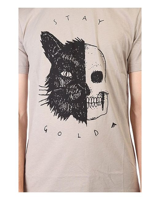 Футболка Skull Cat Grey Emerica                                                                                                              серый цвет