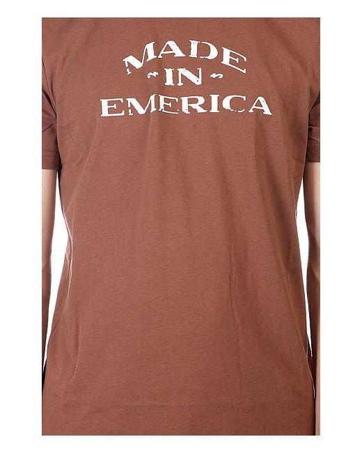 Футболка Olde Made Chocolate Emerica                                                                                                              коричневый цвет