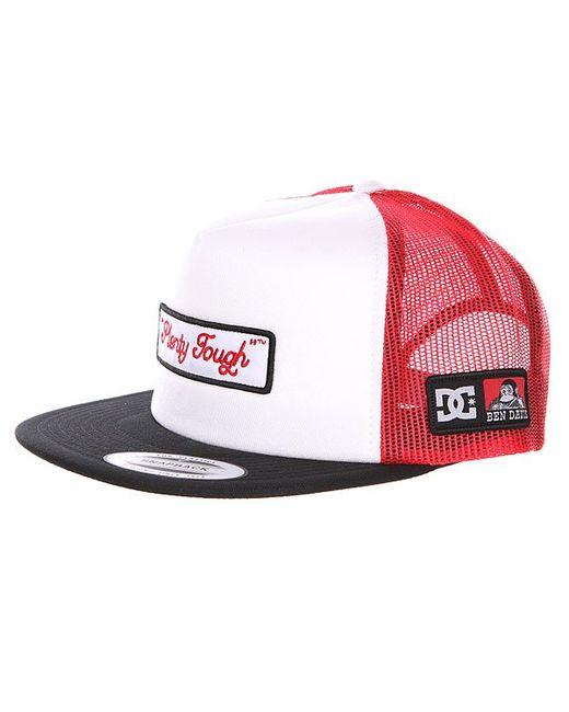 Бейсболка Dc Bd Trucker White Dcshoes                                                                                                              красный цвет