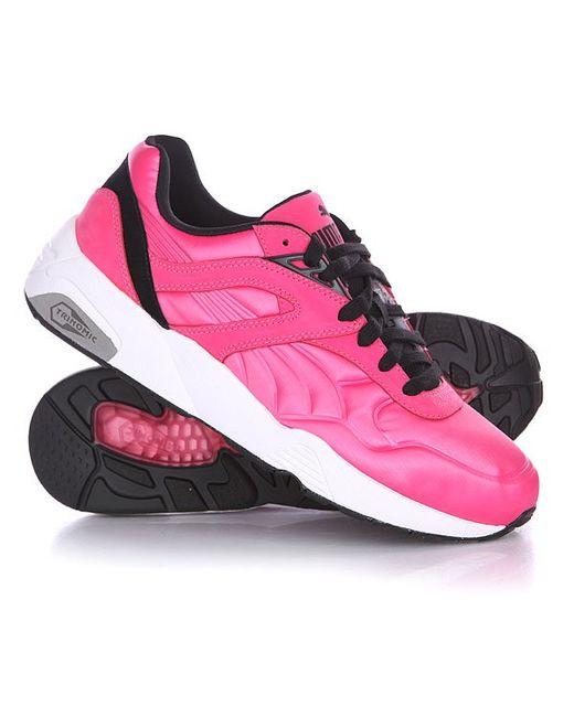 Кроссовки R698 Matt Shine Carmine Rose/Black/White Puma                                                                                                              розовый цвет