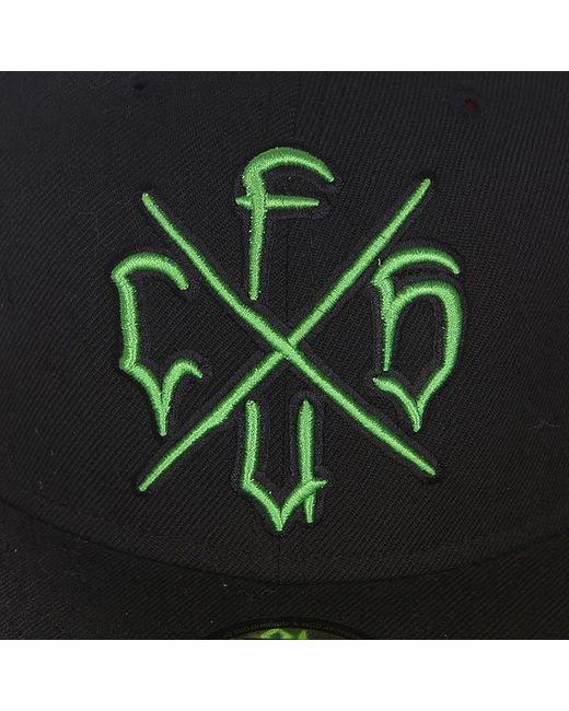 Бейсболка С Прямым Козырьком Csfu New Era Creature                                                                                                              чёрный цвет