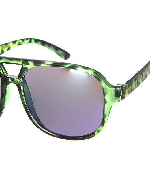 Очки Cabanaz Green Tortoise Creature                                                                                                              чёрный цвет