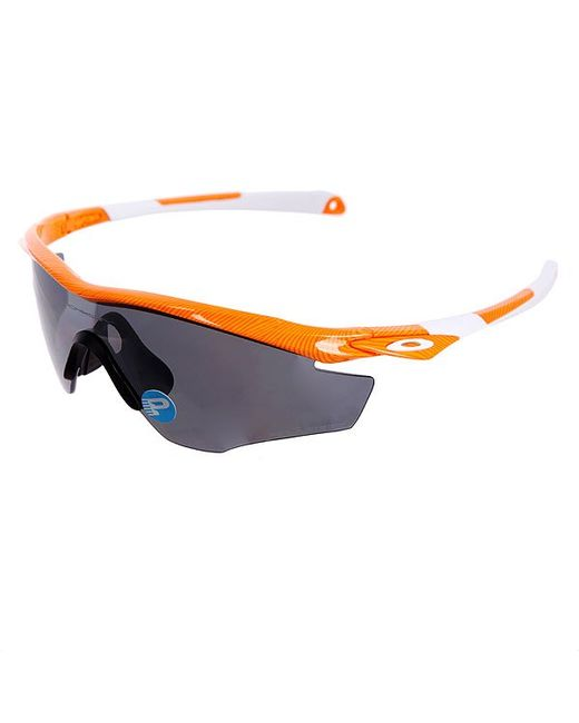 Очки M2 Frame Atomic Orange/Black Iridium Polarized Oakley                                                                                                              оранжевый цвет