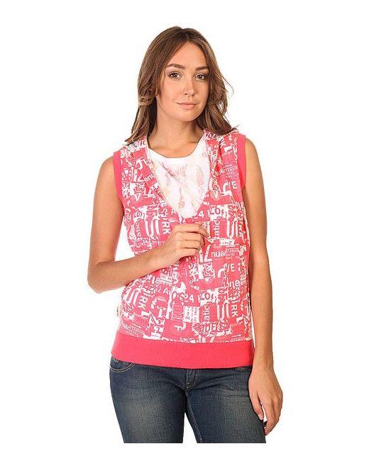 Толстовка Классическая Женская Zyw Watermelon Zoo York                                                                                                              розовый цвет