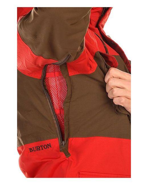 Куртка Mb Frontier Jk Campfire/Woody Burton                                                                                                              красный цвет