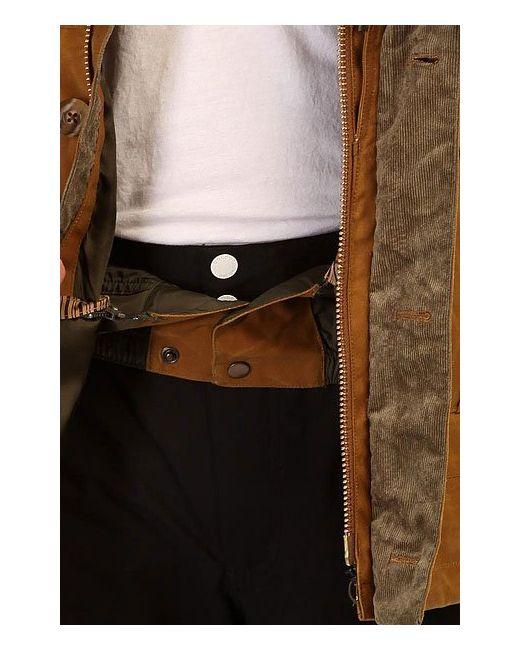 Куртка Filson X Sentry Jkt Tin Oil Burton                                                                                                              коричневый цвет