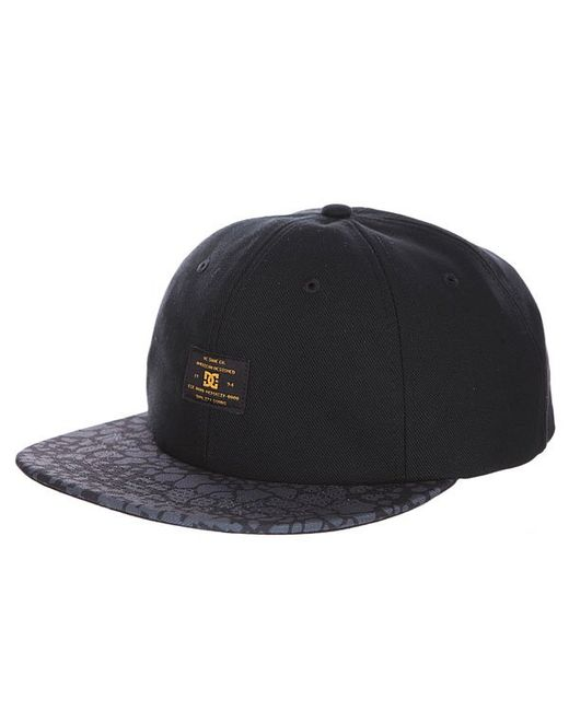 Бейсболка С Прямым Козырьком Dc Woodbrook Cap Dcshoes                                                                                                              чёрный цвет