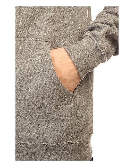 Толстовка Классическая Ripper Thumbs Heather Grey Bro Style                                                                                                              серый цвет