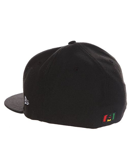 Бейсболка С Прямым Козырьком Og Rasta New Sk8Mafia                                                                                                              чёрный цвет