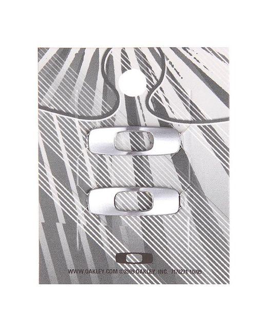 Сменный Логотип Dispatch Icon Retail Pair Chrome Oakley                                                                                                              серый цвет