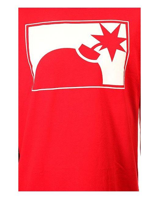 Футболка Forever Half Bomb T-Shirt Red The Hundreds                                                                                                              красный цвет