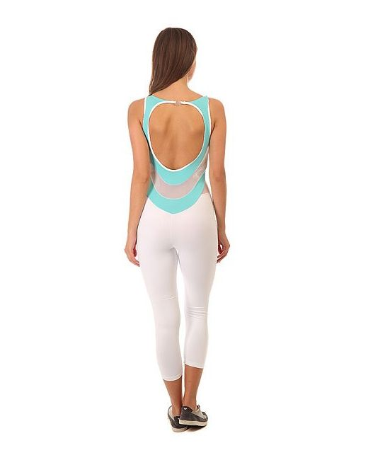 Комбинезон Для Фитнеса Женский Nz Overall Legging CajuBrasil                                                                                                              белый цвет