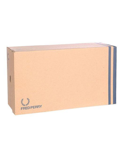 Кеды Кроссовки Низкие Женские Phoenix Flatform Heavy Fred Perry                                                                                                              чёрный цвет