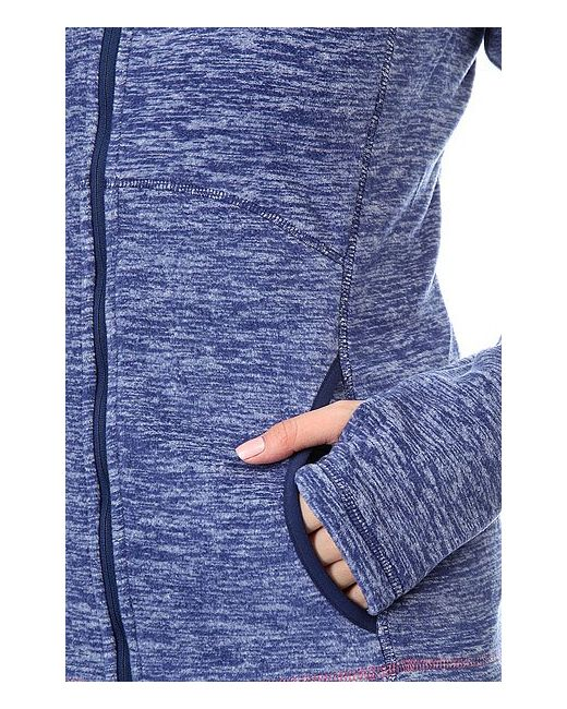 Толстовка Сноубордическая Harmony Print Roxy                                                                                                              синий цвет