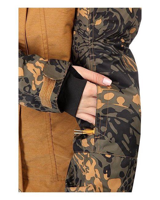Куртка Ceder Bone Roxy                                                                                                              чёрный цвет