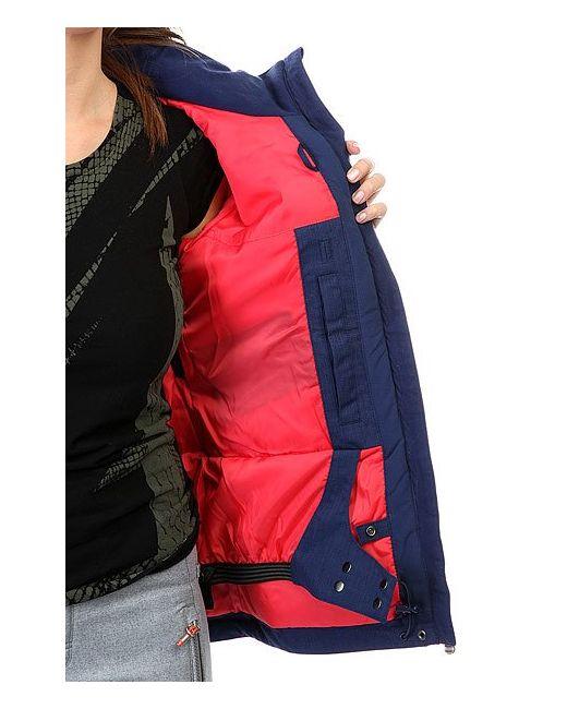 Куртка Rx Jetty Blo Botanik Bright Roxy                                                                                                              синий цвет