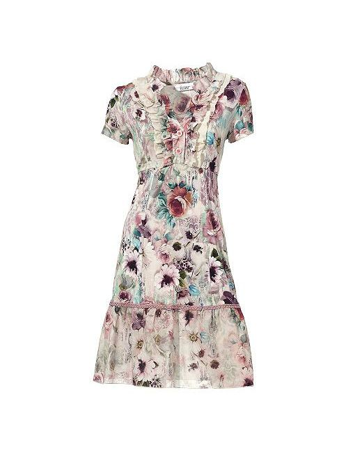 Платье С Рисунком Linea Tesini                                                                                                              None цвет