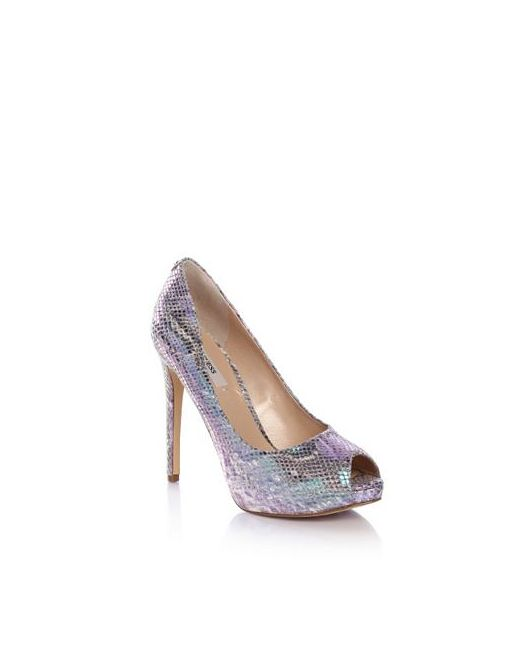 Open-Toe Ansina Printed Guess                                                                                                              None цвет