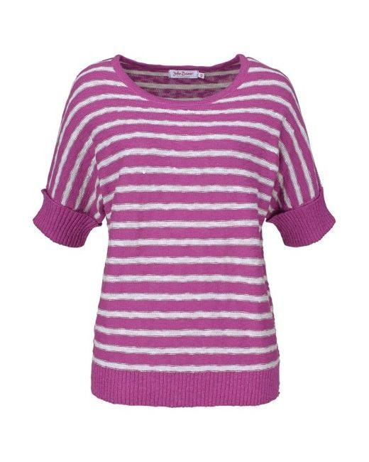 Пуловер С Рукавами Летучая Мышь bonprix                                                                                                              Лиловый цвет