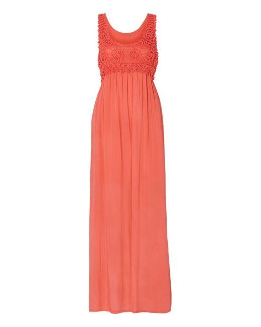 Макси-Платье bonprix                                                                                                              розовый цвет