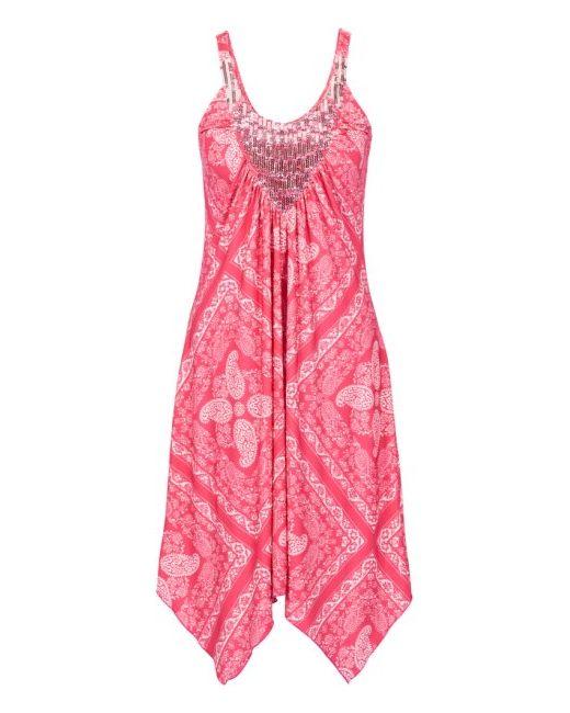 Платье bonprix                                                                                                              розовый цвет