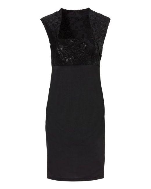 Платье bonprix                                                                                                              чёрный цвет