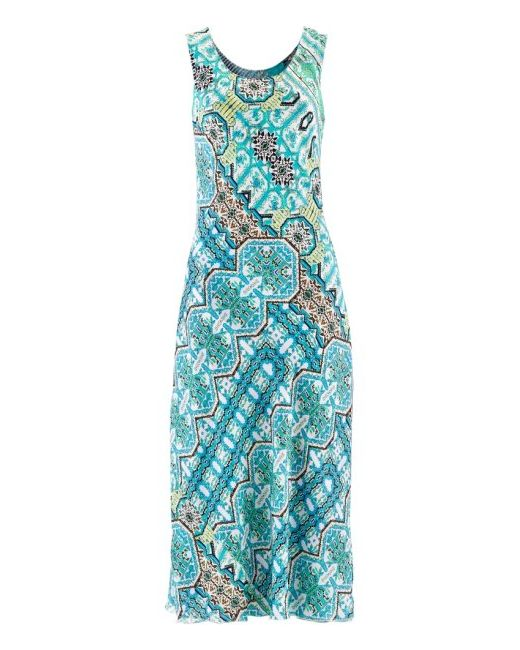 Двухстороннее Платье 2 В 1 Премиум bonprix                                                                                                              Светлый Камыш/Цвет Киви С Прин цвет