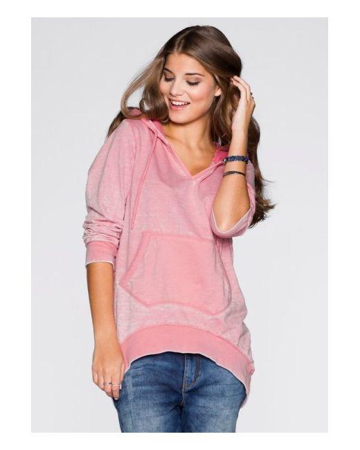 Свитшот-Оверсайз bonprix                                                                                                              розовый цвет