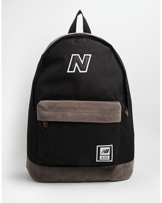 Рюкзак 420 New Balance                                                                                                              чёрный цвет