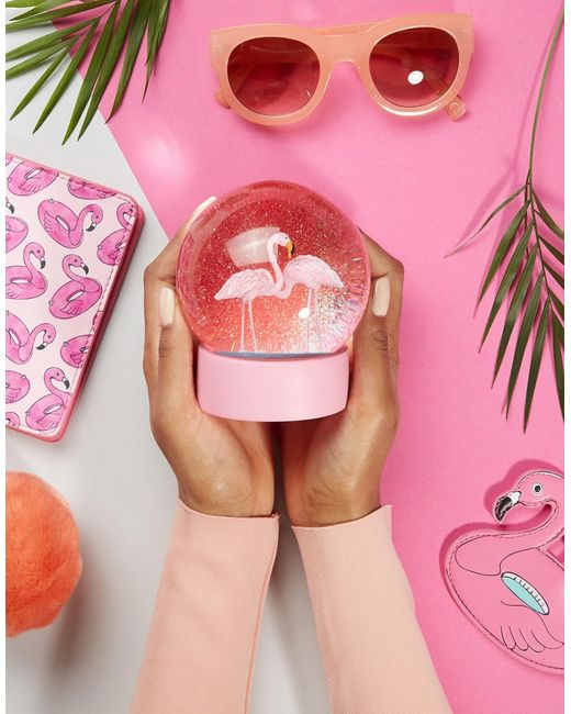 Снежный Шар С Фламинго Talking Tables                                                                                                              многоцветный цвет