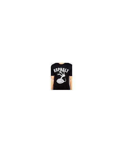 Футболка С Логотипом Snakebite Черный Asphalt Yacht Club                                                                                                              чёрный цвет