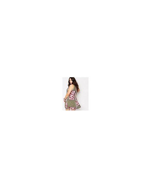 Цельнокройное Платье С Принтом В Стиле Пэчворк Alice & You                                                                                                              многоцветный цвет
